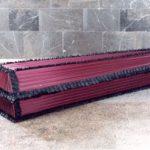 Ткань и гроб
