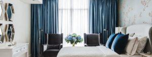 Как подобрать цвет штор в спальню