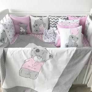 Бортики для кровати