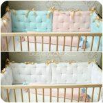 Как выбрать защиту для детской кроватки