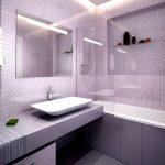 Современные ванные комнаты. Модные тенденции дизайна 2018