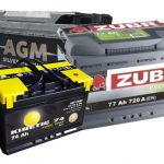 Основные типы аккумуляторных батарей