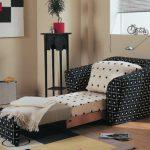 Кресло-кровать — лучший способ экономии свободного пространства