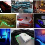 LED украшения: как использовать в интерьере