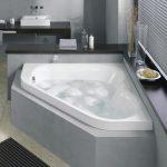 ? Дизайн интерьера с угловой ванной