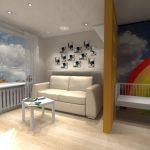 Дизайн спальни 10, 13, 15 м2 в многоэтажках для семьи с ребенком, фото — О Комнате