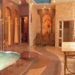 Варианты дизайна бани с комнатой отдыха — О Комнате