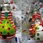 Новогодние игрушки своими руками: 4 идеи для поделок (12 фото)