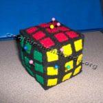 Подушечка для иголок 'Кубик Рубика'