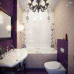 Ванная комната в хрущевке: дизайн, фото интерьера