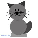 Аппликация из геометрических фигур для дошкольников или в детском саду