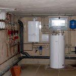 Разработка схемы и проведение расчета для отопления дома газовыми баллонами
