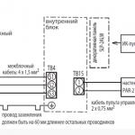Подключение кондиционера к электросети