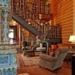 Как выбрать интерьер деревянного дома