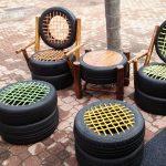 Мебель из шин (покрышек) своими руками (39 фото)