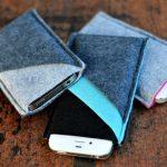 Чехол из ткани для телефона своими руками