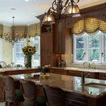 Кухонное окно: шторы, жалюзи или ролеты?