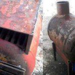 Печь-буржуйка из газового баллона – простая и эффективная система обогрева