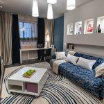Как разработать дизайн гостиной 19 кв м