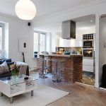 Красивые интерьеры квартиры студии: 40 фото открытого пространства