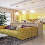 Варианты дизайна кухни гостиной 25 кв м