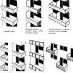 Разнообразие балконов