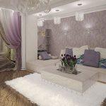 В каких стилях можно выполнить интерьер спальни и гостиной