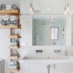 Полочки, коробки, корзины стеллажи и другие идеи для хранения вещей в ванной комнате (50 фото)