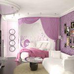 Создание дизайна спальни для девушки — О Комнате
