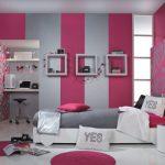 Яркие комбинированные обои для спальни подчеркивают оригинальность — О Комнате