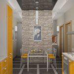 Применение искусственного камня в интерьере — О Комнате