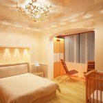 Освещение спальни можно организовать по-разному: красиво, оригинально — О Комнате