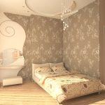Правильный выбор обоев для маленькой комнаты — О Комнате