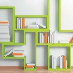 Настенные полки из стекла и других материалов в интерьере — О Комнате