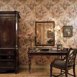 Стильное оформление обоями в английском стиле в интерьере квартиры — О Комнате