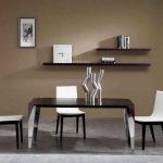 Цвет венге в интерьере: выбираем обои и мебель
