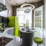👍 Интерьер полукруглой кухни 9 метров