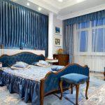 Спальня в голубом цвете — О Комнате