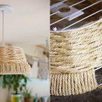Как использовать веревки, шнуры и канат в интерьере (54 фото)