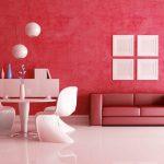 👍 Гостиная в красном цвете