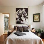 Место над кроватью в спальне: идеи декора и оформления (37 фото)