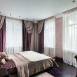 Каким образом подобрать цвет штор в спальню