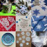 Вдохновение дня: Снежинки в новогоднем декоре (54 фото)
