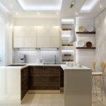 ? Варианты и примеры планировок кухонь