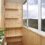 Полки для балкона своими руками