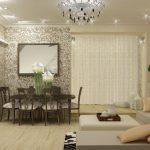 Красивая и удобная гостиная 30 кв м: дизайн совмещенного пространства