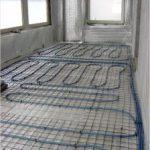 Расчет количества труб для теплого водяного пола на балконе