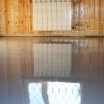 Обустройство наливного пола на деревянном основании