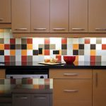 Кухонный фартук: последовательность в работе при его создании