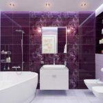 Чем отделать стены в ванной комнате лучше?